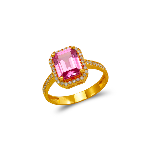 273-014 Ladies CZ Ring