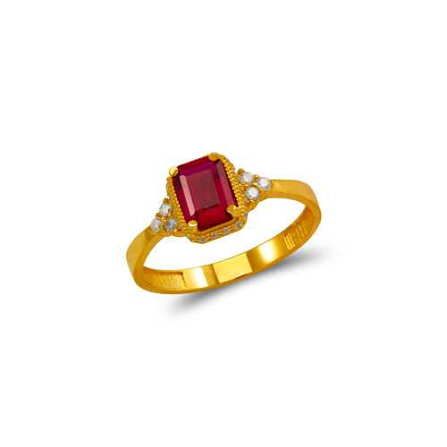 273-017 Ladies CZ Ring