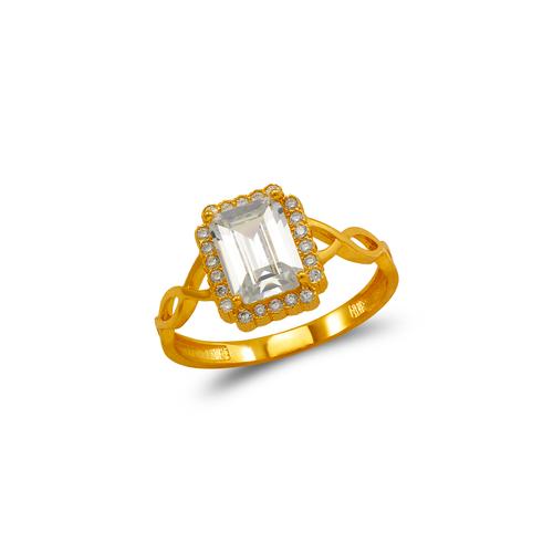 273-018 Ladies CZ Ring