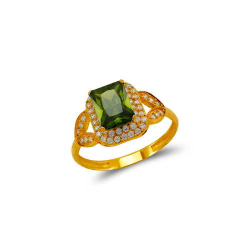 273-019 Ladies CZ Ring