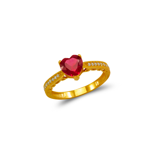 273-024 Ladies CZ Ring