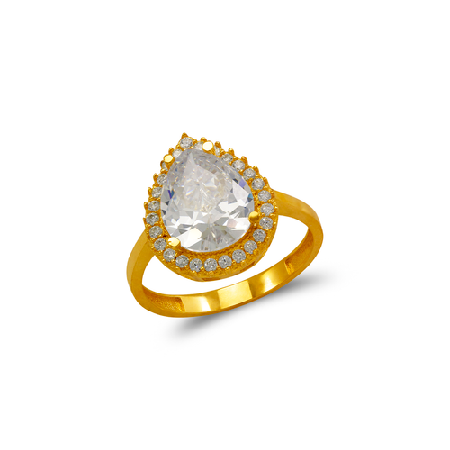 273-027 Ladies CZ Ring