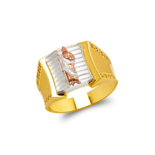 473-200 Men's Fancy CZ Ring