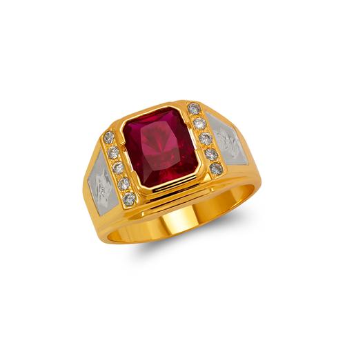 473-025 Men's Fancy CZ Ring