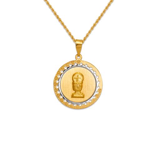 167-172-018 High Polished Communion Chalice Pendant