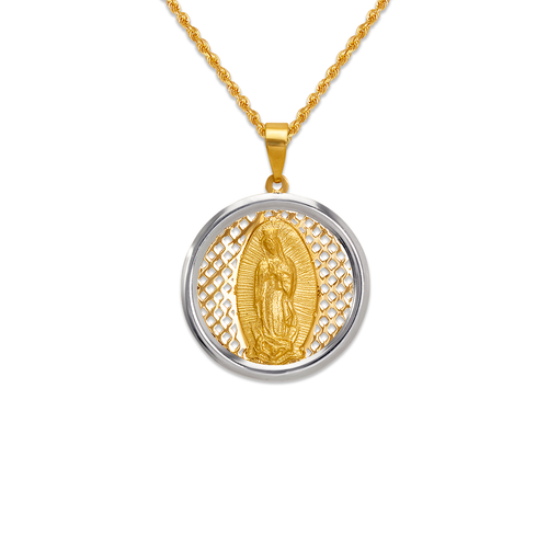 167-181-020 High Polished Guadalupe Pendant