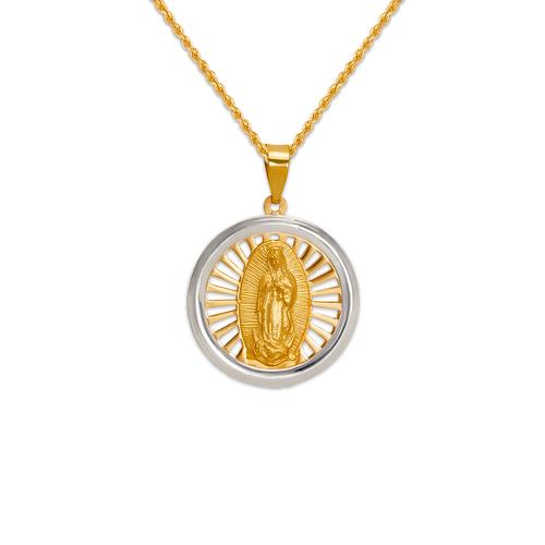 167-185-018 High Polished Guadalupe Pendant