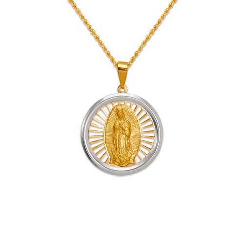 167-185-020 High Polished Guadalupe Pendant