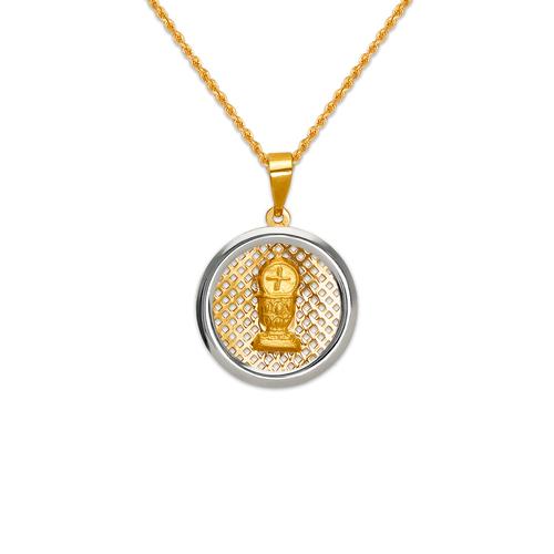 167-191-016 High Polished Communion Chalice Pendant