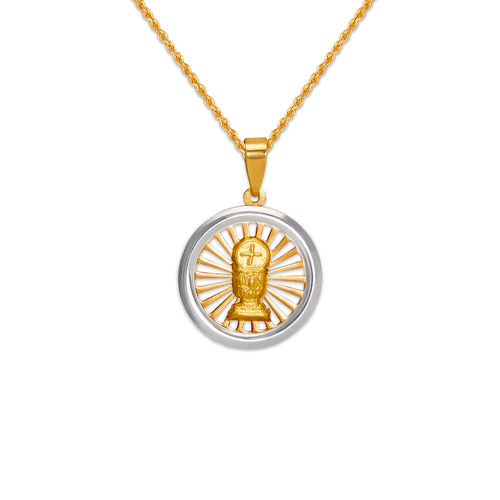 167-195-016 High Polished Communion Chalice Pendant