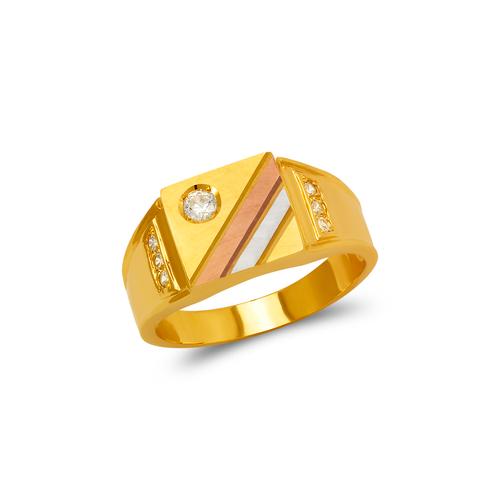 473-028 Men's Fancy CZ Ring