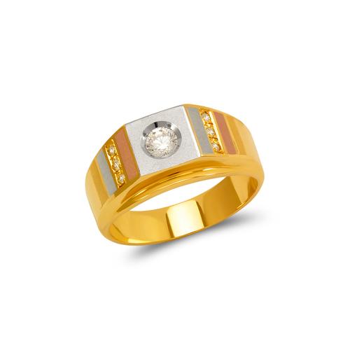 473-101 Men's Fancy Couple CZ Ring