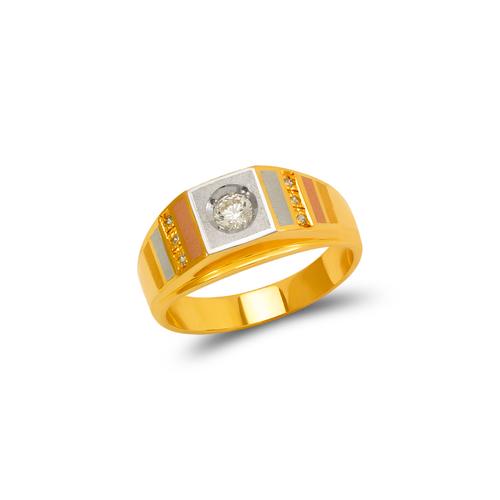 473-102 Ladies Fancy Couple CZ  Ring