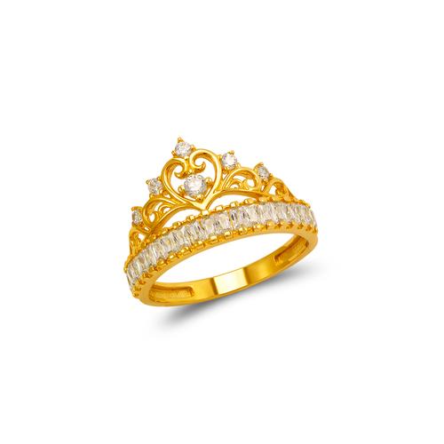 273-651 Fancy Tiara CZ Ring