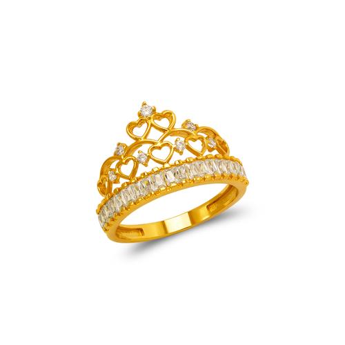 273-652 Fancy Tiara CZ Ring