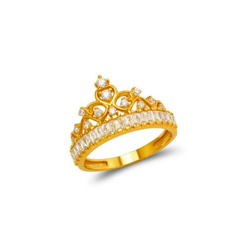 273-653 Fancy Tiara CZ Ring