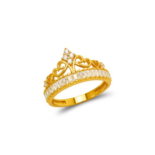 273-655 Fancy Tiara CZ Ring