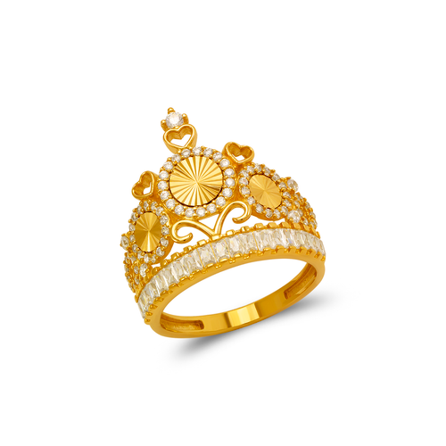 273-658 Fancy Tiara CZ Ring