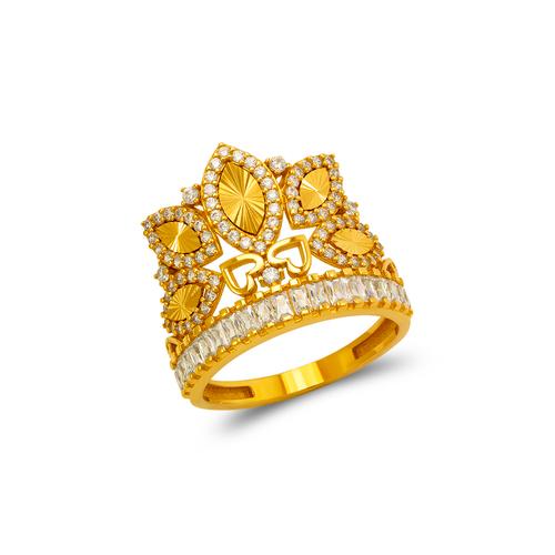 273-659 Fancy Tiara CZ Ring