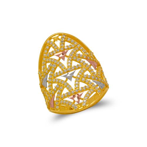 273-610 Mosaic CZ Ring