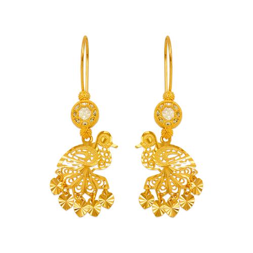 242-001 D/C Chandelier Earrings