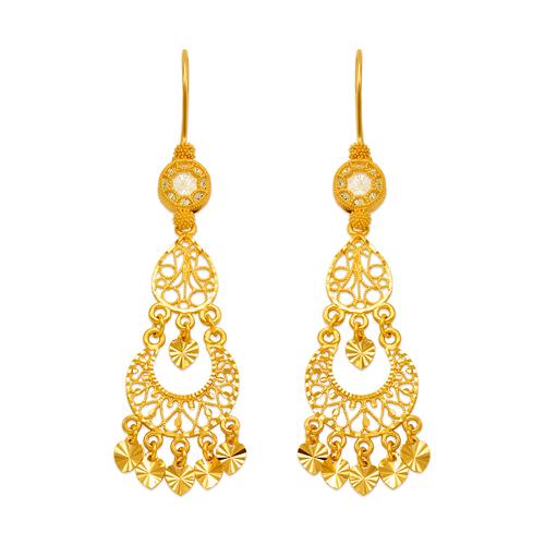 242-002 D/C Chandelier Earrings