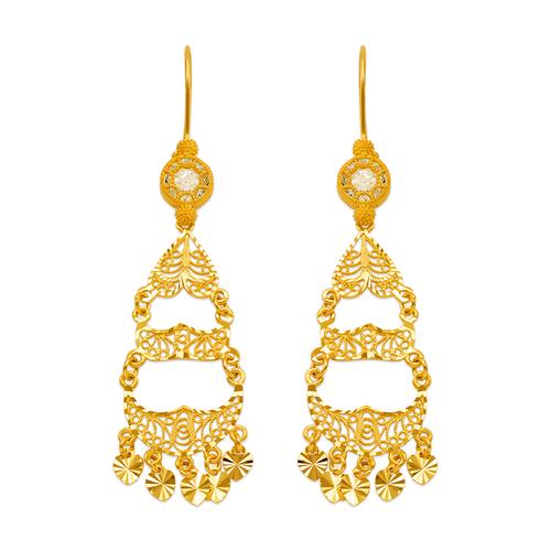242-003 D/C Chandelier Earrings