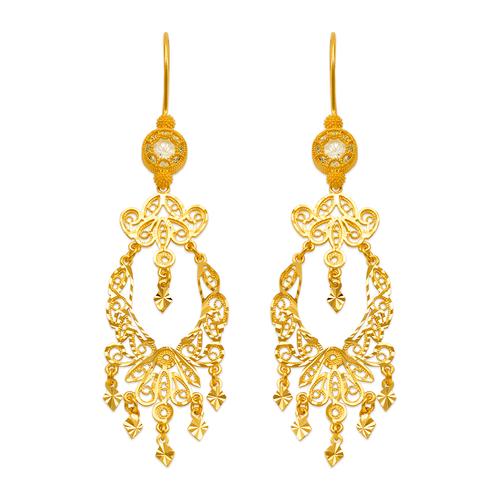 242-004 D/C Chandelier Earrings