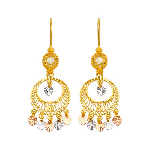 242-005T D/C Chandelier Earrings