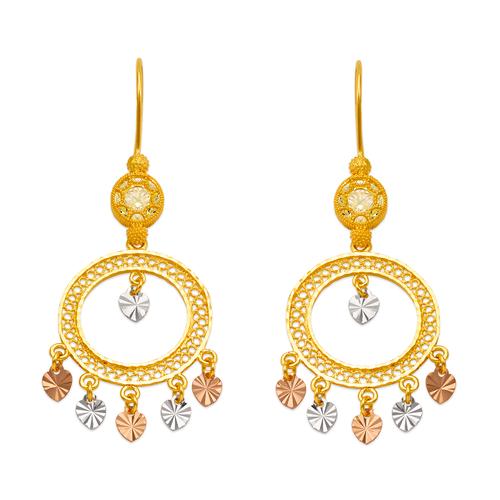 242-006T D/C Chandelier Earrings