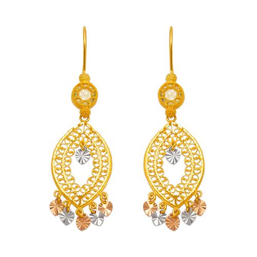 242-007T D/C Chandelier Earrings