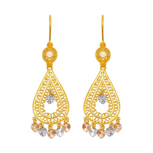 242-009T D/C Chandelier Earrings