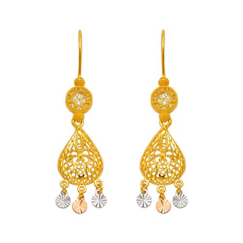242-010T D/C Chandelier Earrings