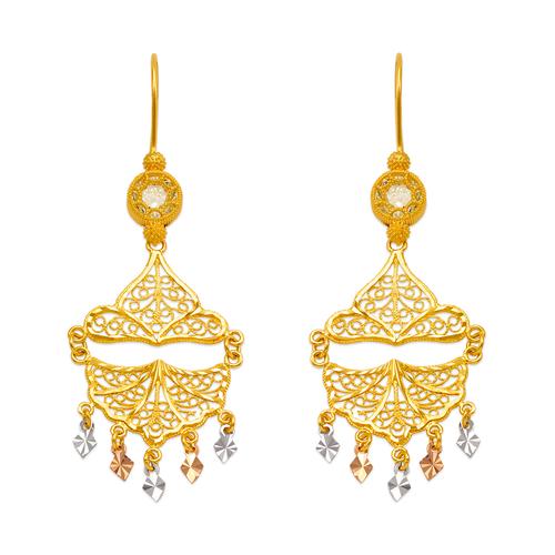 242-011T D/C Chandelier Earrings
