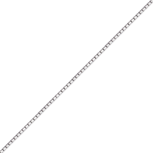 132-031WS Box White Chain