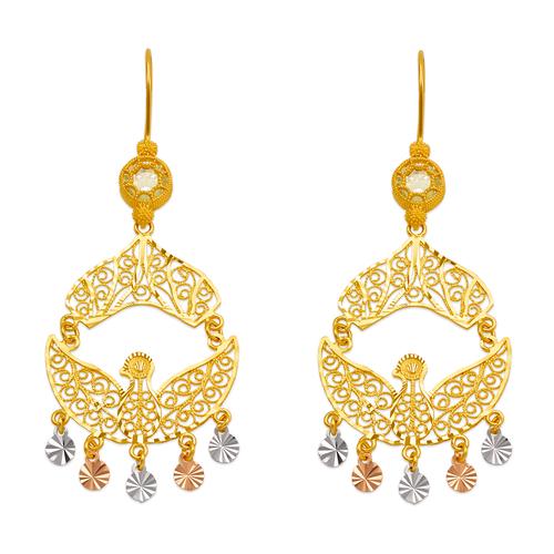 242-015T D/C Chandelier Earrings