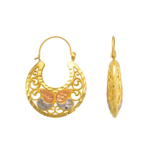 548-106 Basket Earrings