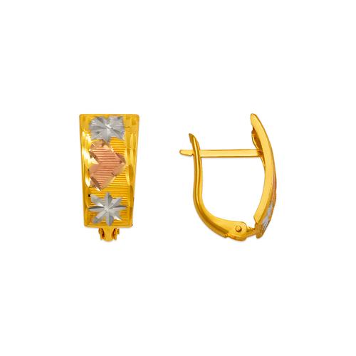 748-011C D/C Huggie Earrings