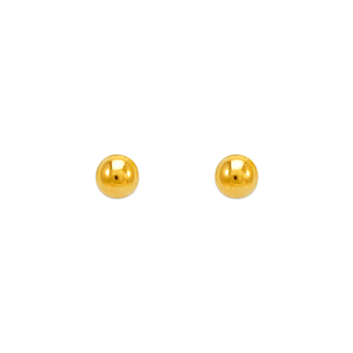 343-002 3mm Ball Stud Earrings