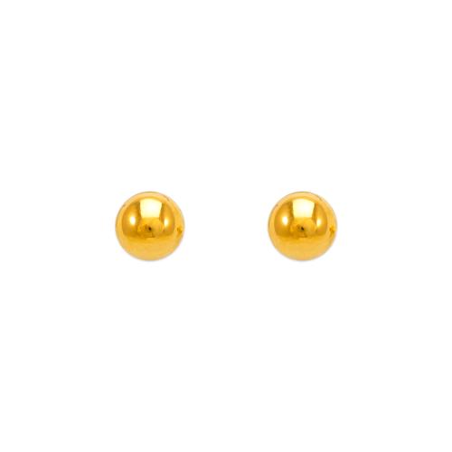343-004 5mm Ball Stud Earrings