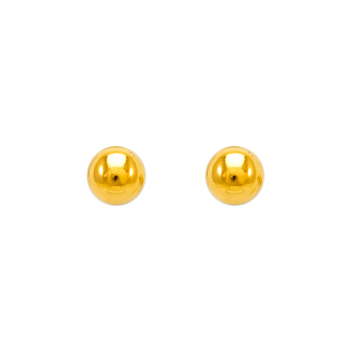 343-005 6mm Ball Stud Earrings