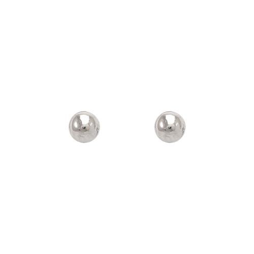 343-002W 3mm Ball Stud Earrings