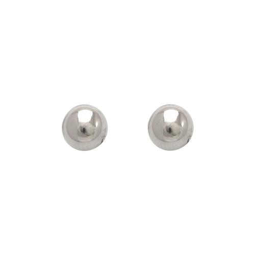 343-006W 7mm Ball Stud Earrings