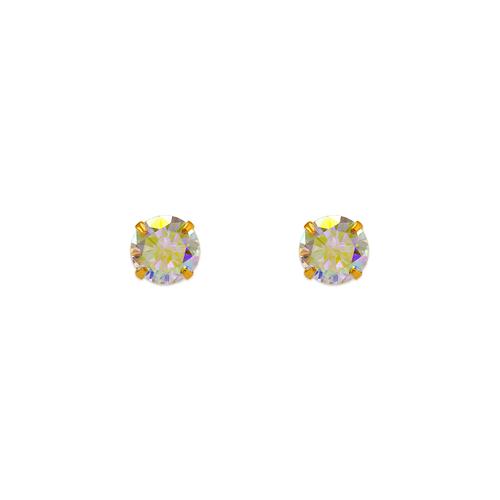 343-094 Tornasol CZ Stud Earrings