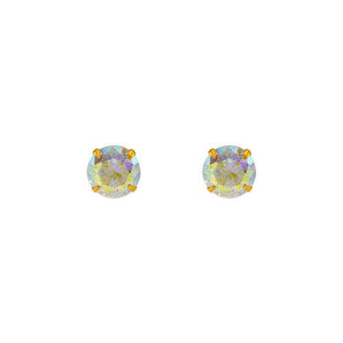 343-095 Tornasol CZ Stud Earrings