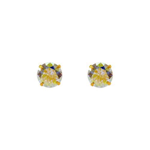 343-096 Tornasol CZ Stud Earrings