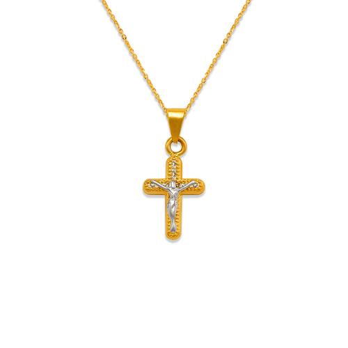 367-080 Christ CZ Pendant