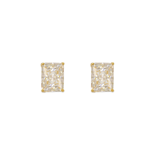 543-137 Cushion Cut CZ Stud Earrings