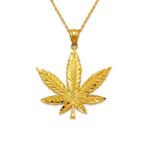 568-592 Marijuana Pendant