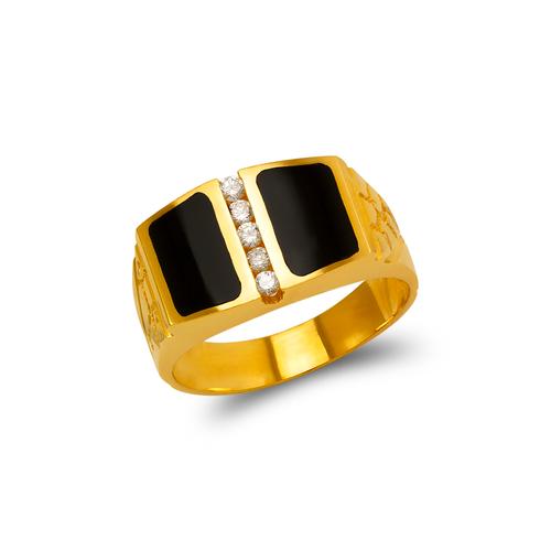 576-340 Men's Full Cut Onyx Ring